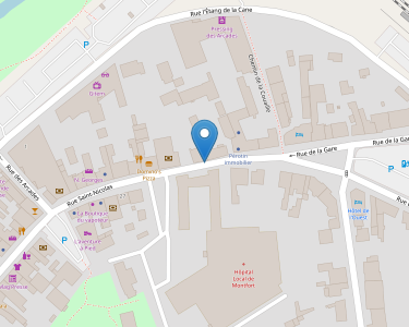 Adresse CENTRE HOSPITALIER MONTFORT-SUR-MEU