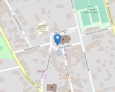 Adresse CCAS SAINT LUNAIRE