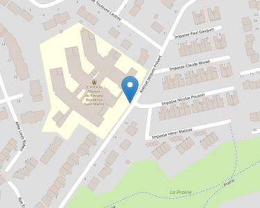 Adresse EHPAD RESIDENCE SAINT MARTIN
