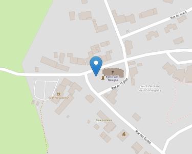 Adresse CCAS DE SAINT- BERAIN SOUS SANVIGNES