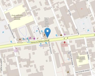 Adresse CCAS DE STE SAVINE
