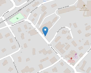 Adresse E.H.P.A.D. DE MAMIROLLE-ETALANS