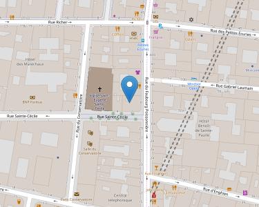 Adresse CEREP FBG POISSONNIERE PARIS
