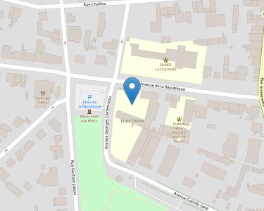 Adresse Caf de l'Eure-et-Loir - Point relais de Nogent-le-Rotrou