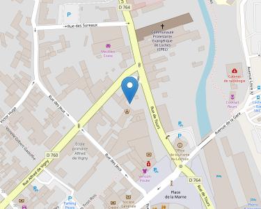 Adresse Caf d'Indre-et-Loire - Point relais de Loches