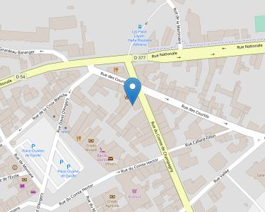 Adresse Caf du Maine-et-Loire - accueil de Vihiers