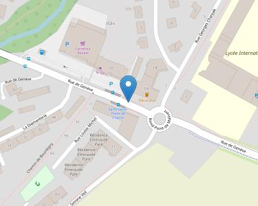 Adresse Caf de l'Ain - Point relais de Saint-Genis-Pouilly