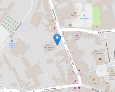 Adresse Caf des Côtes-d'Armor - Point relais de Loudéac