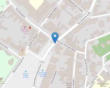 Adresse Caf des Côtes-d'Armor - Point relais de Lamballe