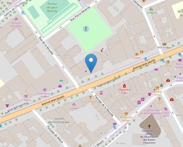 Adresse Caf de Paris - Point relais de Laumière