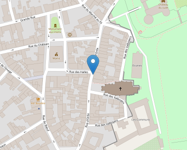Adresse Caf de Sarthe - accueil du Lude