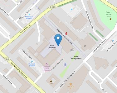 Adresse Caf de Béarn-et-Soule - MSAP de Mourenx