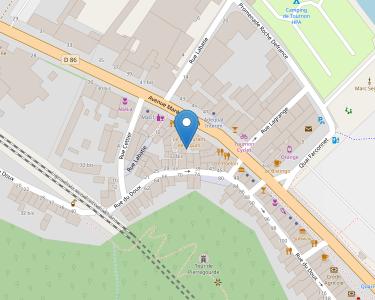 Adresse Caf de l'Ardèche - Point relais de Tournon - Centre