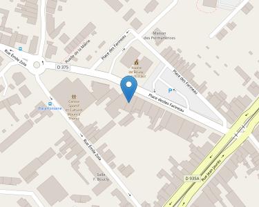 Adresse Caf du Nord - Point relais de Bruay-sur-l'Escaut
