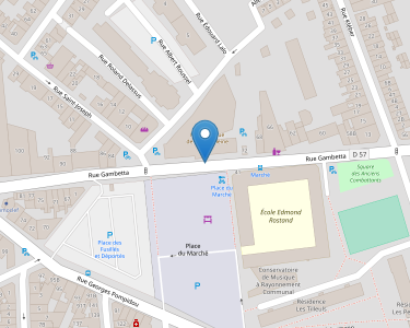 Adresse Caf du Nord - Point relais de La Madeleine
