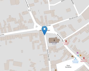 Adresse Caf du Nord - Point relais de Ferrière-la-Grande