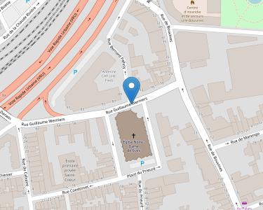 Adresse Caf du Nord - Point relais de Lille - Fies