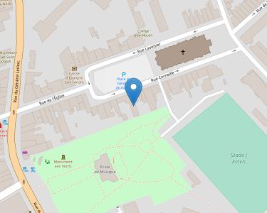 Adresse Caf du Nord - Point relais de Saint-André-lez-lille