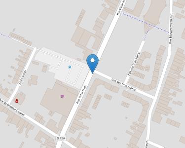 Adresse Caf du Nord - Point relais de Vieux-Condé
