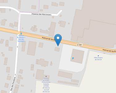 Adresse CPAM de Nière - accueil de Decize
