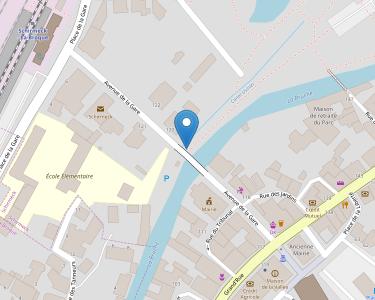 Adresse CPAM du Bas-Rhin - accueil de Schirmeck