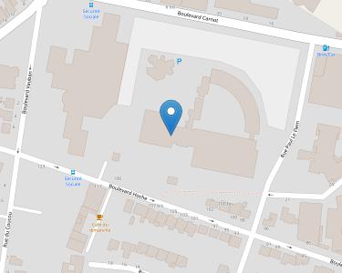 Adresse CPAM des Côtes-d'Armor - siège de Saint-Brieuc