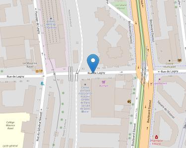 Adresse CPAM de Paris - accueil de Saint-Blaise