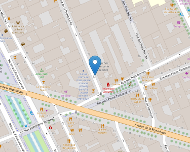 Adresse CPAM de Paris - accueil de Folie-Méricourt