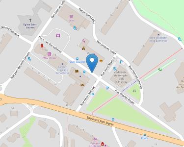 Adresse CPAM de Loire-Atlantique - accueil de Nantes - Les Derallières