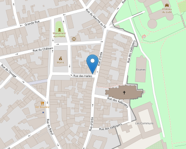 Adresse CPAM de Sarthe - accueil du Lude