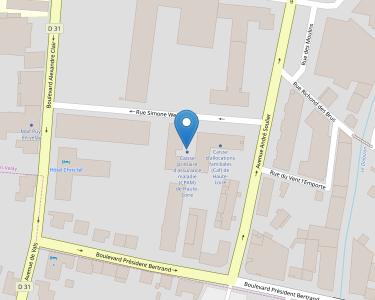 Adresse CPAM de Haute-Loire - siège du Puy-en-Velay