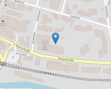 Adresse CPAM de Haute-Saône - accueil de Vesoul