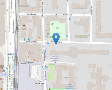 Adresse CPAM du Rhône - accueil de Lyon - 3e arrondissement