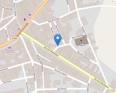Adresse CPAM du Gard - accueil de Saint-Ambroix