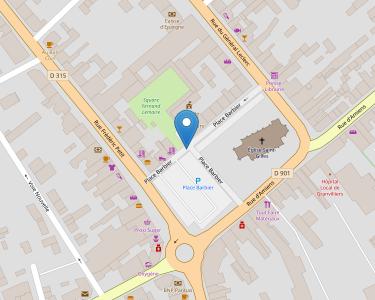 Adresse CPAM de l'Oise - accueil de Grandilliers