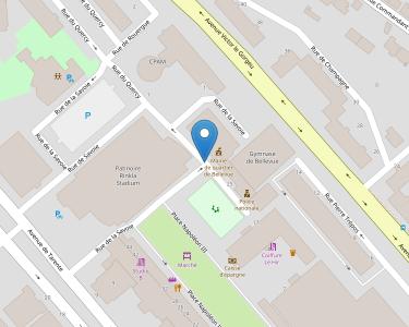 Adresse CPAM du Finistère - siège de Brest - Belleue