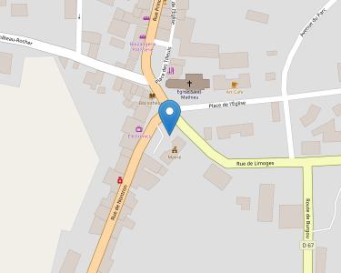 Adresse CPAM de Haute-Vienne - accueil de Saint-Mathieu