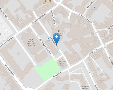 Adresse CPAM de l'Artois - accueil de Béthune