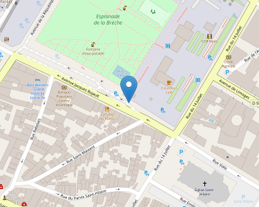 Adresse CPAM des Deux-Sères - accueil de Nueil-les-Aubiers