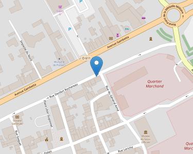 Adresse CPAM des Deux-Sères - accueil de Saint-Maixent-l'École