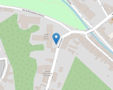Adresse CPAM de Meuse - siège de Bar-le-Duc