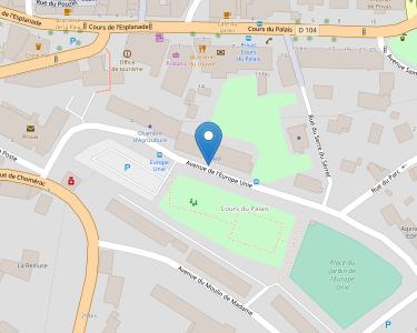 Adresse CPAM d'Ardèche - siège de Prias