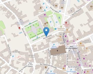 Adresse CPAM de la Vienne - accueil de Loudun