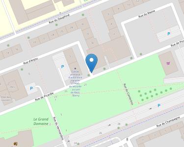 Adresse CPAM de Moselle - accueil de Metz - Borny