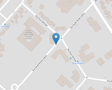 Adresse CPAM de l'Indre - siège de Châteauroux