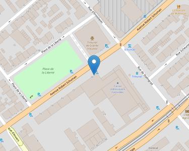 Adresse CPAM du Haut-Rhin - accueil de Mulhouse - Les Côteaux