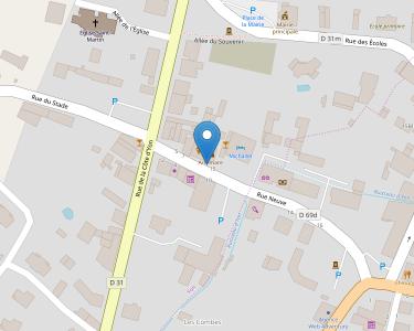 Adresse Caf de l'Ain - MSAP Artemare