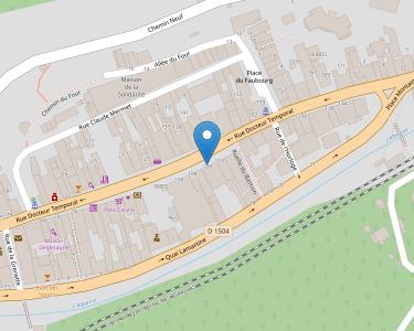 Adresse Caf de l'Ain - MSAP Saint-Rambert en Bugey