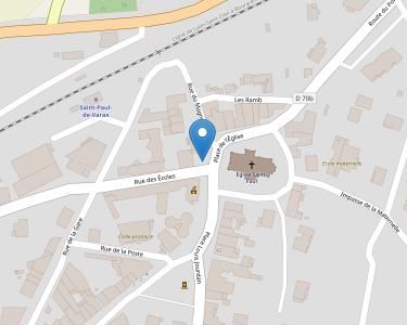 Adresse Caf de l'Ain - MSAP Saint-Paul de Varax