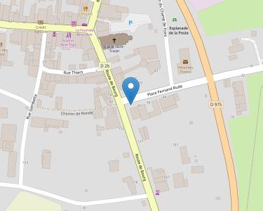 Adresse Caf de l'Ain - MSAP Saint-Triier de Courtes